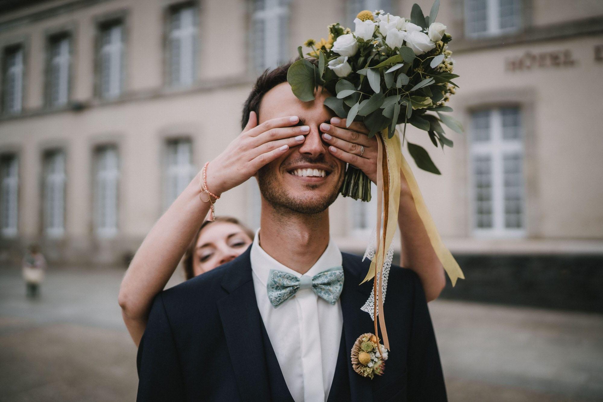 photographe de mariage finistere mairie st pol de léon