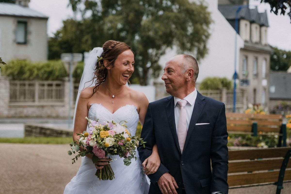 photo de mariage à la mairie de Bohars dans le Finistère