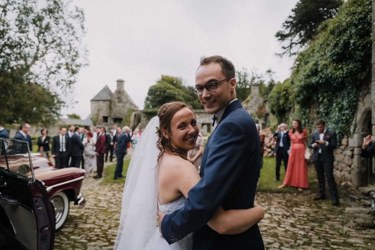 photo de mariage au Manoir de Keroartz Lannilis