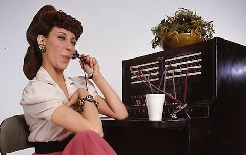 Lily Tomlin Phone Company