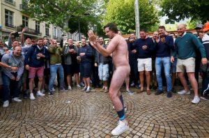 England fans gather in Saint Etienne - EURO 2016