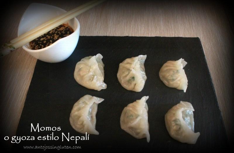 Momo o gyoza al estilo Nepalí. Todo el delicioso sabor asiático en un pequeño envase sin gluten