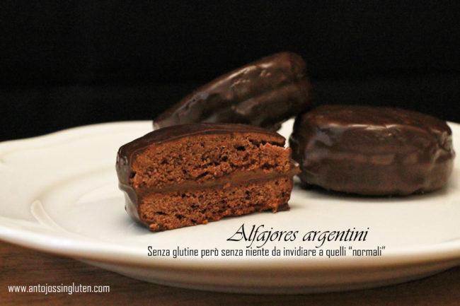"""Alfajores argentini - Senza glutine però senza niente da invidiare a quelli """"normali"""""""