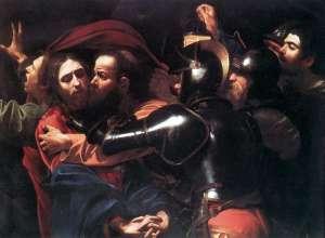 Caravaggio - L'arresto di Gesù