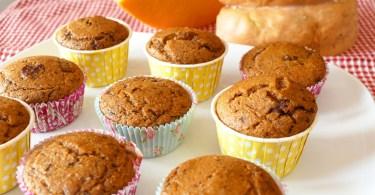Muffin zucca e cioccolato fondente