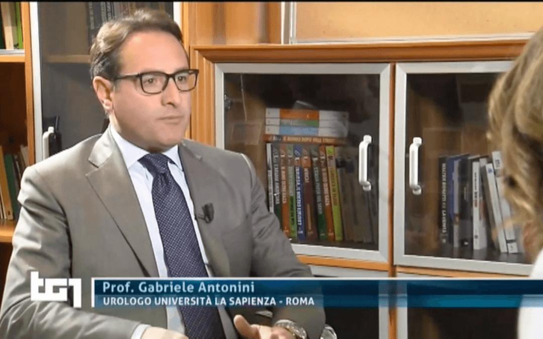 Antonini intervistato al TG1 Medicina