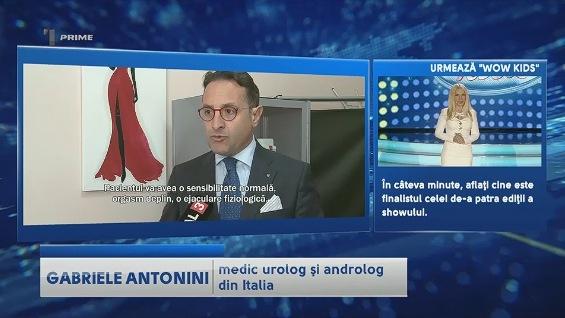 Antonini intervistato alla TV moldava sulle protesi al pene