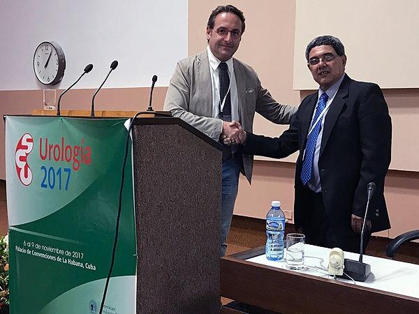 Congresso Cubano di Urologia: Impianto mini invasivo di protesi al Pene