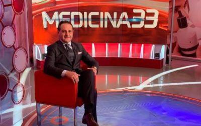 Antonini ancora ospite del Tg2 Medicina 33