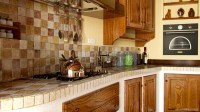 Tuscan Country Kitchen Interior Render in Maya and Mental ...