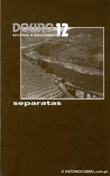 A cantiga e o romance popular no Alto Douro, separata de Douro Estudos & Documentos