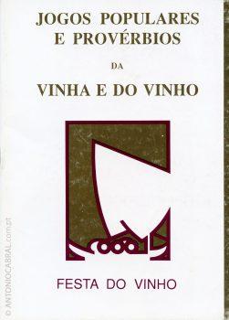Jogos populares e provérbios da vinha e do vinho