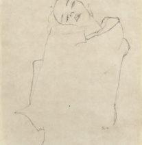 Esboço de Egon Schiele
