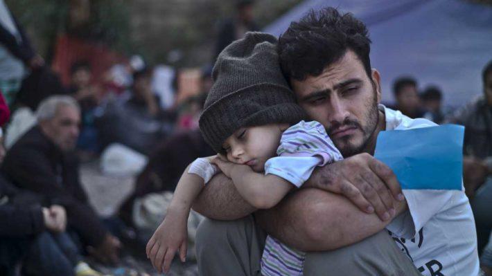 Refugiado sírio por Muhammed Muheisen, AP