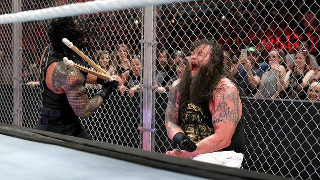 Roman Reigns def. Bray Wyatt