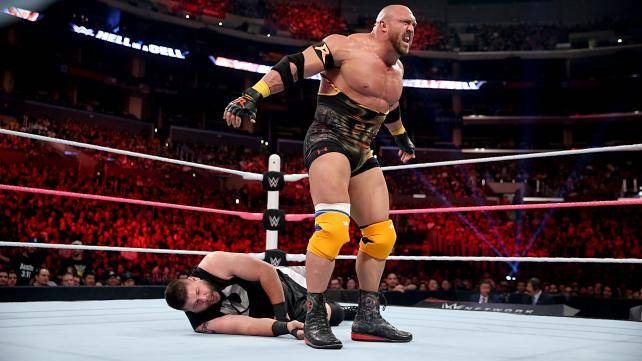 Intercontinental Champion Kevin Owens def. Ryback