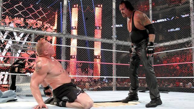Brock Lesnar def. The Undertaker
