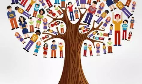 Tree of all people and race