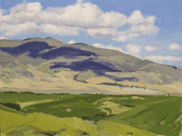 sombras en la montaña