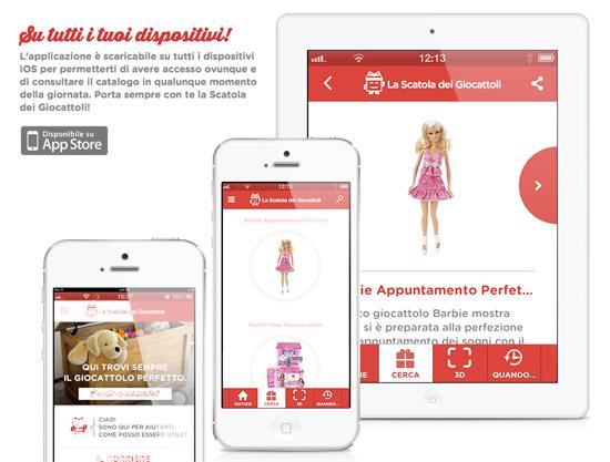 Linguaggio Naturale per l'App La Scatola dei Giocattoli