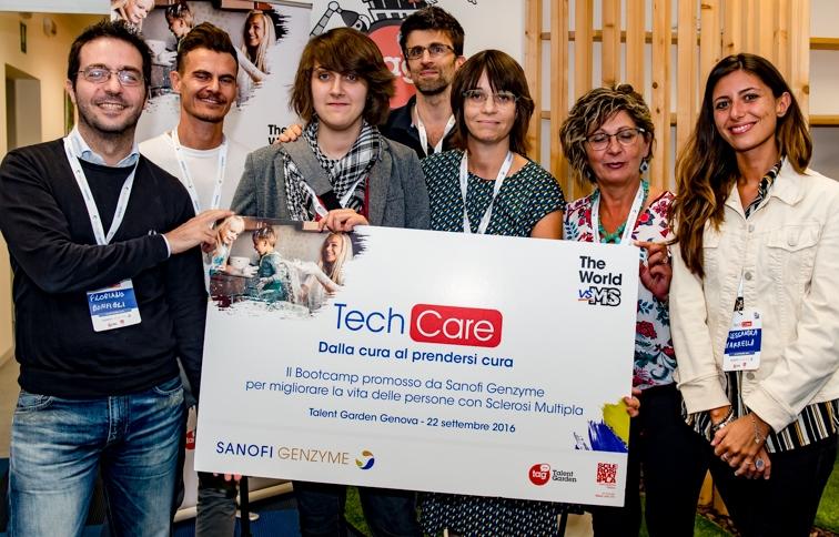 Le idee del primo bootcamp TechCare: dalla cura al prendersi cura