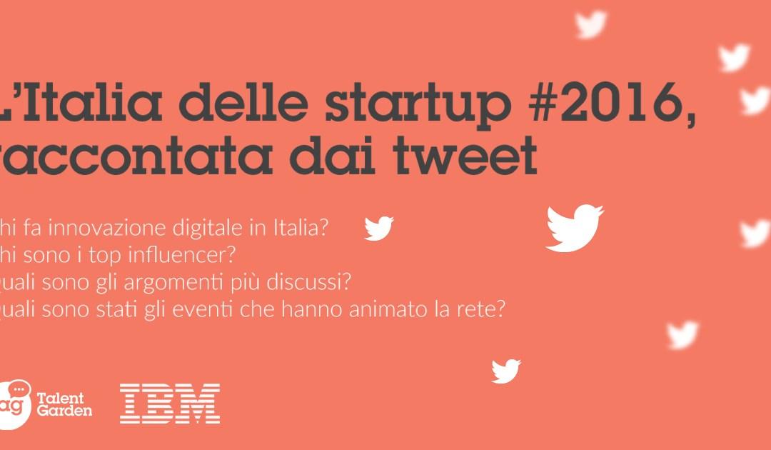 L'Italia delle startup #2016, raccontata dai tweet