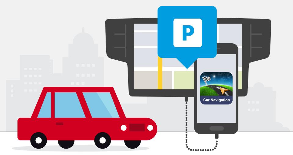 Con il Real Time Parking Service, l'app Sygic Car Navigation consente di risparmiare decine e decine di euro nelle città