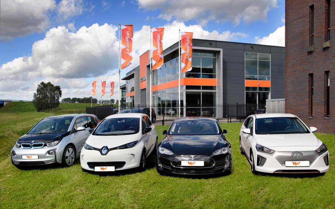 LeasePlan accelera la transizione verso la mobilità elettrica