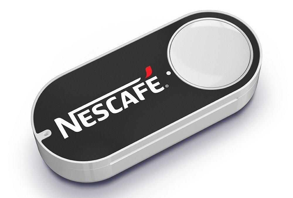 Amazon lancia 15 nuovi Dash Button: da Nescafé a Fujifilm, i prodotti preferiti a casa premendo un bottone