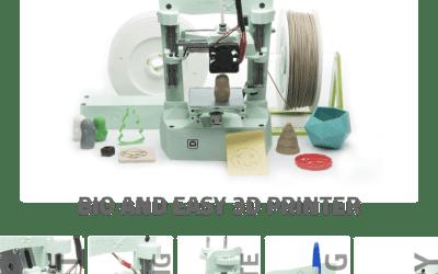 Poly la prima stampante 3D portabile realizzata da 3Drap
