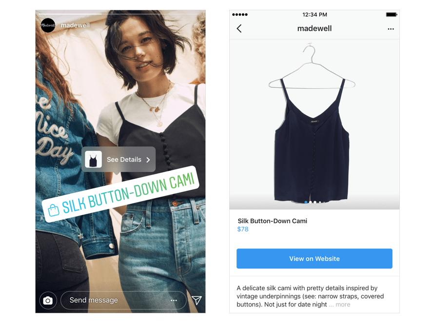 Nuovi modi per fare acquisti su Instagram