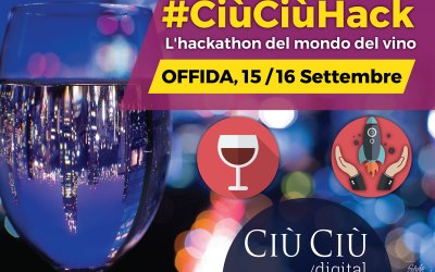 #CIÙCIÙDIGITAL –  HACKATHON dedicato al mondo del Vino