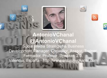 Cabecera de Twitter para AntonioVChanal.