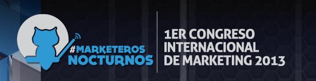 I Congreso Internacional de Marketing de #MarketerosNocturnos en Madrid