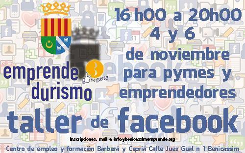 Taller de Facebook para Empresas y Profesionales en Benicassim