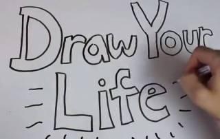 Allianz se lanza a los virales 'Draw your life'