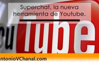 Youtube empieza fuerte 2017 con Superchat: una herramienta para que los usuarios conecten entre sí durante las transmisiones en vivo.