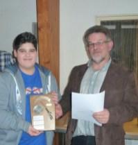 Einzelsieger in der Schülerklasse: Dario van Well