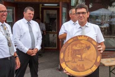 Den Schießmeisterpokal errang Stefan Manders von der St. Sebastianus-Schützenbruderschaft