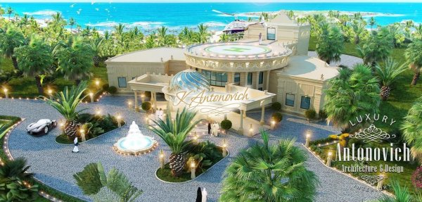 luxury landscape design