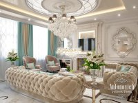 Beautiful Living Room Interior Design UAE