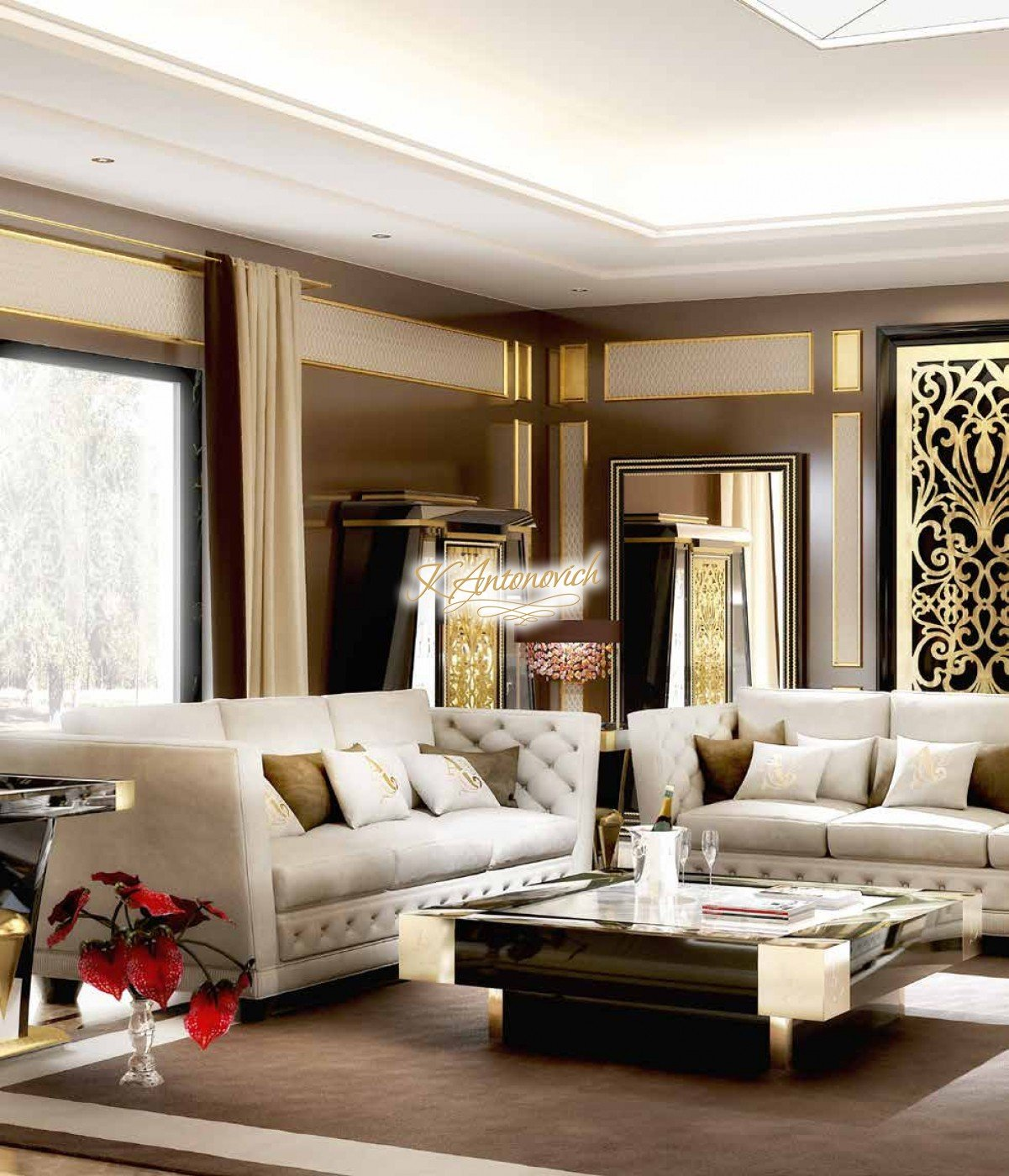 Italy Luxury Modern Furniture