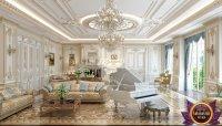Royal Living Room Design