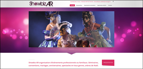 Showbizar Décoration salle animations particulières Artistes