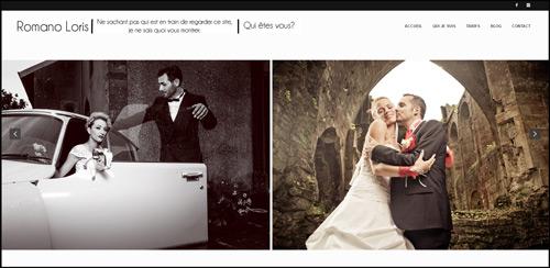 Loris Romano Photographe original unique mariage