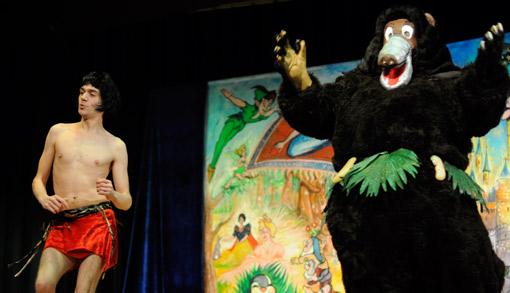 spectacle enfants Livre de la jungle