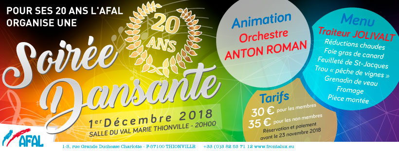 Soirée dansante AFAL 2018, Anton Roman