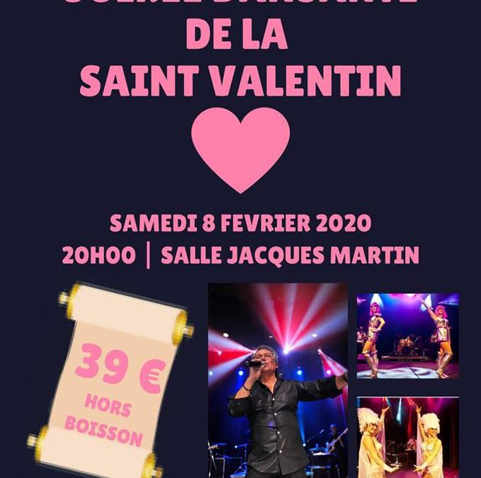 Saint-Valentin Soirée Dansante Anton Roman et ses danseuses Samedi 8 Février 2020 – à Bertrange-Imeldange