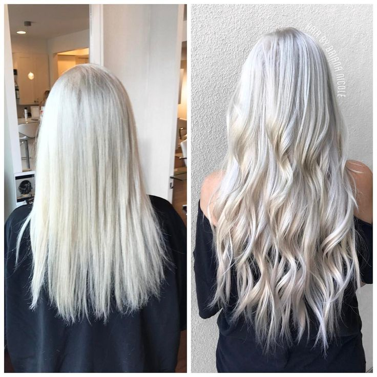 Short Hair With Extensions Before And After