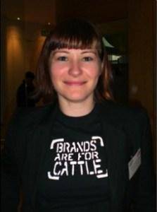 Image: Adriana's B-word T-shirt